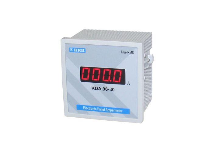 электронная схема цифрового амперметра переменного тока.